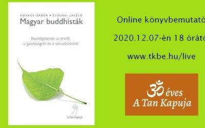 Magyar buddhisták丨online könyvbemutató